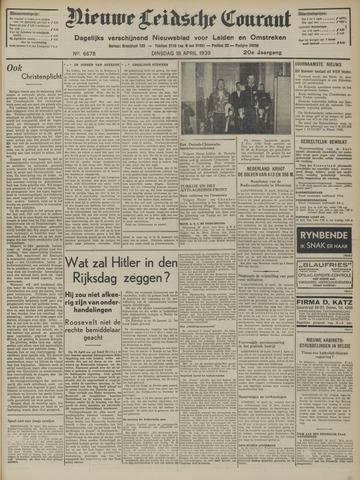 Nieuwe Leidsche Courant 1939-04-18