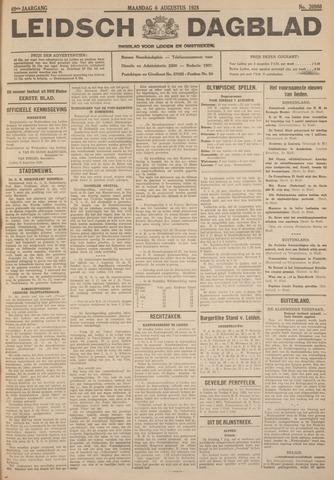 Leidsch Dagblad 1928-08-06
