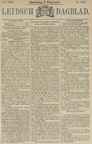 Leidsch Dagblad 1885-02-07