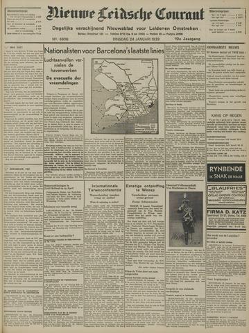 Nieuwe Leidsche Courant 1939-01-24