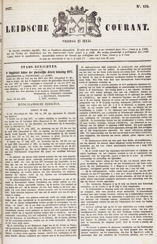 Leydse Courant 1877-07-27