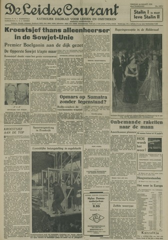 Leidse Courant 1958-03-28