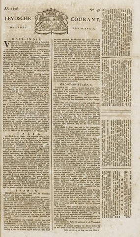 Leydse Courant 1826-04-17