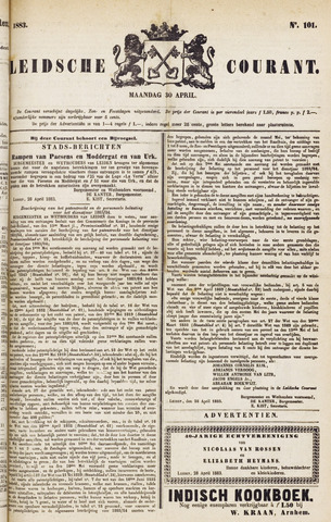 Leydse Courant 1883-04-30