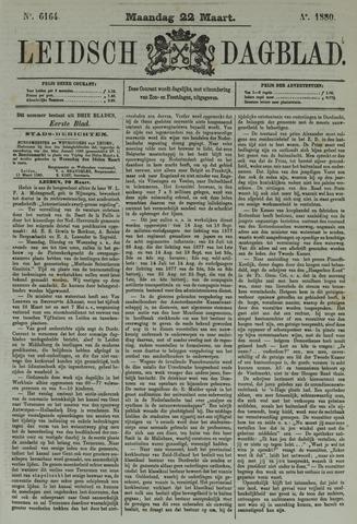 Leidsch Dagblad 1880-03-22