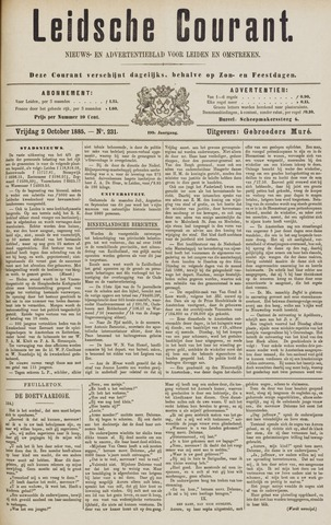 Leydse Courant 1885-10-02