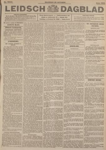 Leidsch Dagblad 1923-10-29