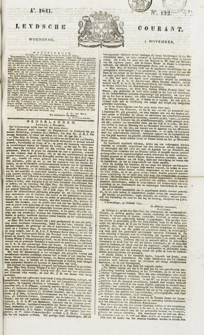 Leydse Courant 1841-11-03
