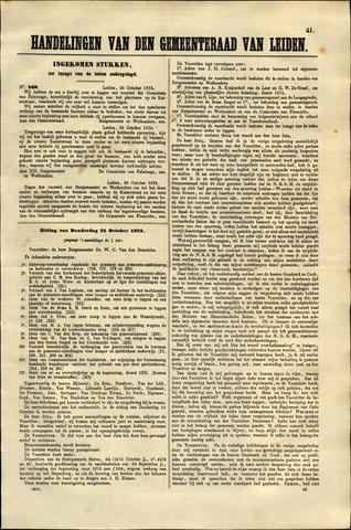 Handelingen van de Raad 1875-10-25