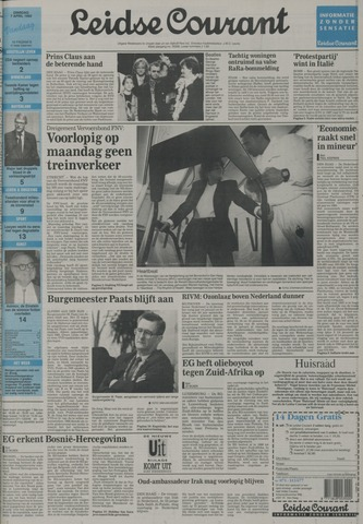 Leidse Courant 1992-04-07