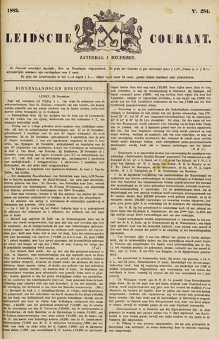 Leydse Courant 1883-12-01