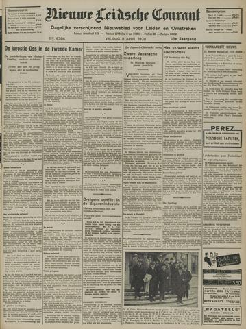 Nieuwe Leidsche Courant 1938-04-08