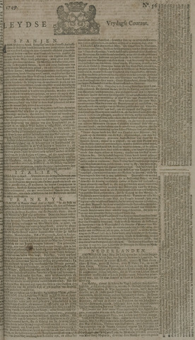 Leydse Courant 1749-05-09