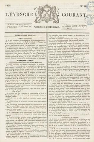 Leydse Courant 1852-09-22