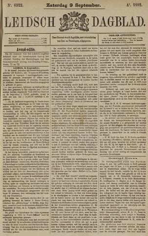 Leidsch Dagblad 1882-09-09