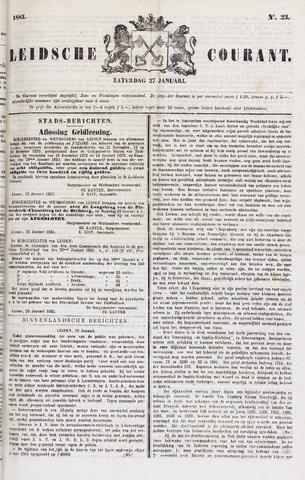 Leydse Courant 1883-01-27