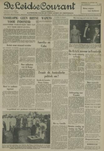 Leidse Courant 1962-01-24