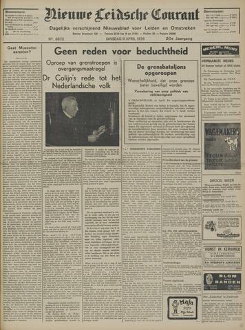Nieuwe Leidsche Courant 1939-04-11