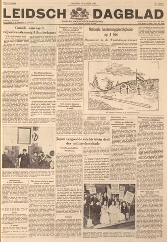 Leidsch Dagblad 1949-03-29