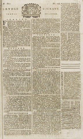 Leydse Courant 1817-10-24