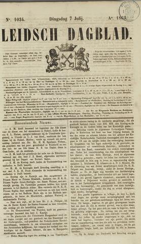 Leidsch Dagblad 1863-07-07