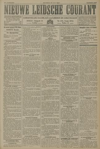 Nieuwe Leidsche Courant 1927-07-25