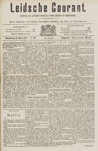 Leydse Courant 1887-04-28