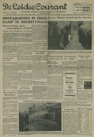 Leidse Courant 1958-04-03