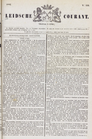 Leydse Courant 1882-06-09