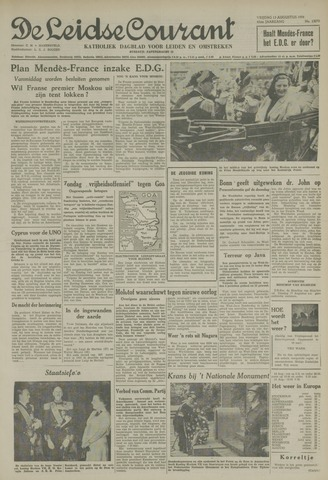 Leidse Courant 1954-08-13