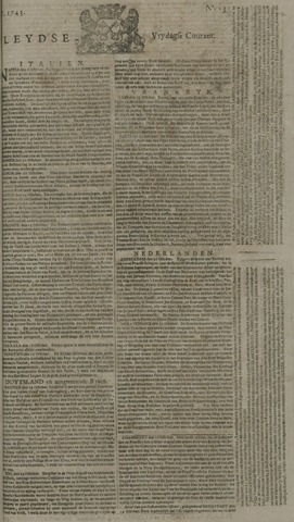 Leydse Courant 1743-11-01