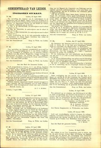 Handelingen van de Raad 1900-04-13