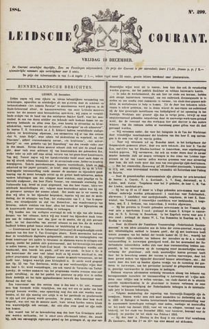 Leydse Courant 1884-12-19