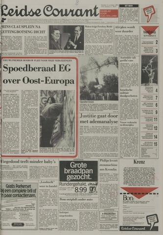 Leidse Courant 1989-11-14