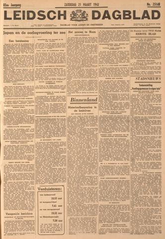Leidsch Dagblad 1942-03-21