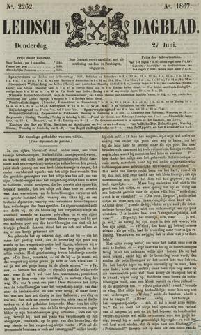 Leidsch Dagblad 1867-06-27