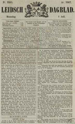 Leidsch Dagblad 1867-07-01