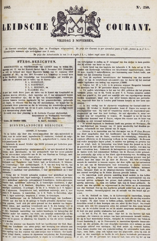 Leydse Courant 1882-11-03