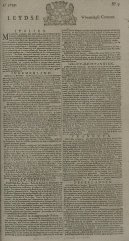 Leydse Courant 1739-01-21