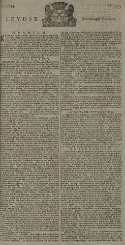 Leydse Courant 1734-12-22