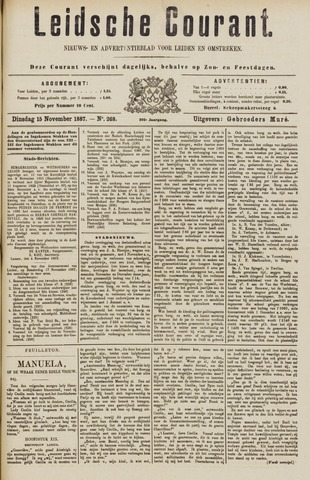 Leydse Courant 1887-11-15