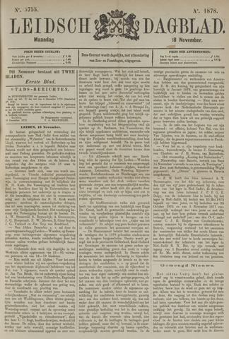 Leidsch Dagblad 1878-11-18