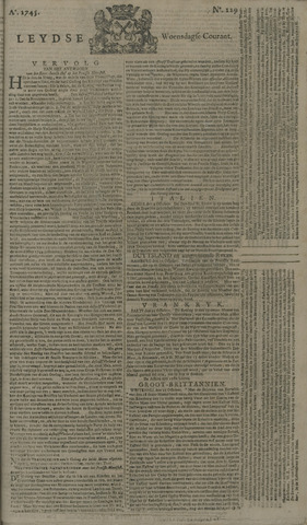 Leydse Courant 1745-10-27