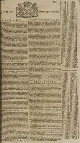 Leydse Courant 1770-10-22