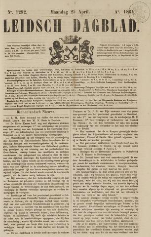 Leidsch Dagblad 1864-04-25