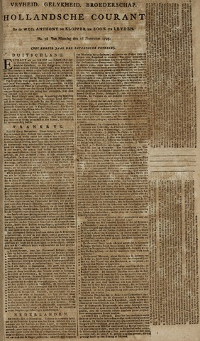 Leydse Courant 1795-11-16