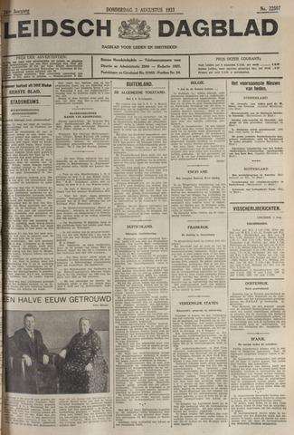 Leidsch Dagblad 1933-08-03