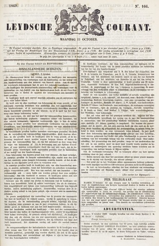 Leydse Courant 1869-10-11