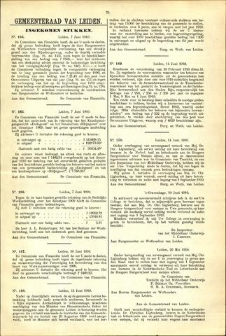 Handelingen van de Raad 1910-06-07