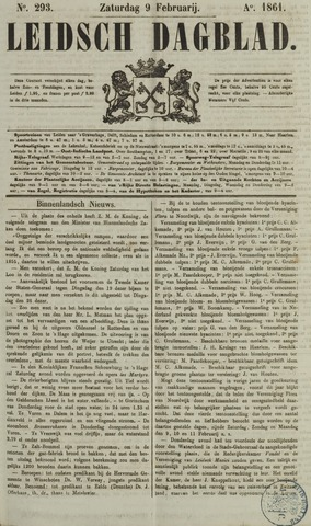 Leidsch Dagblad 1861-02-09
